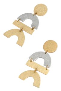 Madewell flatform statement earring