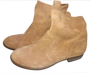 Sole Society Suede Tan Boots