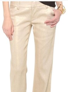 Alice + Olivia Trouser Pants Gold