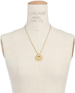 Madewell cymbal pendant necklace