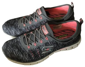 Skechers Space Gray/Pink Athletic
