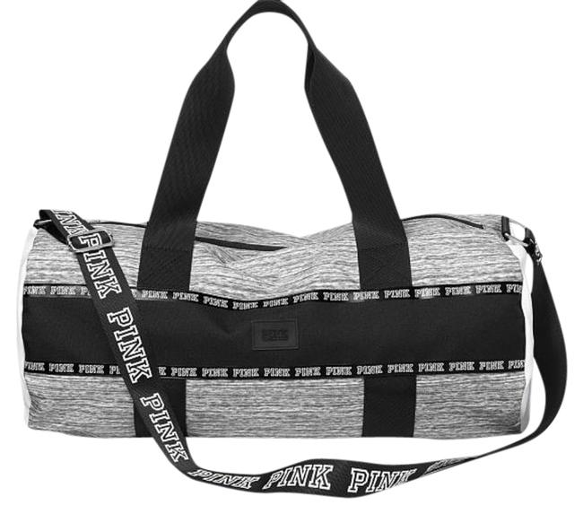 Item - 1 Gray Imported Polyester Weekend/Travel Bag