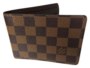 Louis Vuitton Damier Multiple Billfold (Brown/Tan). Item # N60895