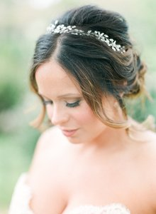 Stunning Amanda Judge Headpiece