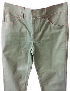 Marc Jacobs Silver Hardware Straight Leg Jeans