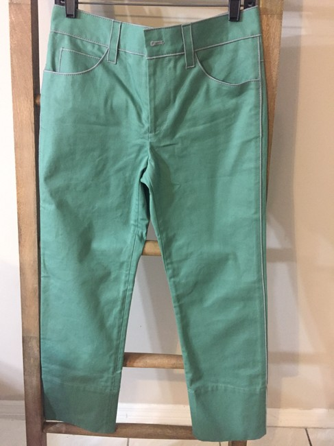 Marc Jacobs Silver Hardware Summer Spring Straight Leg Jeans