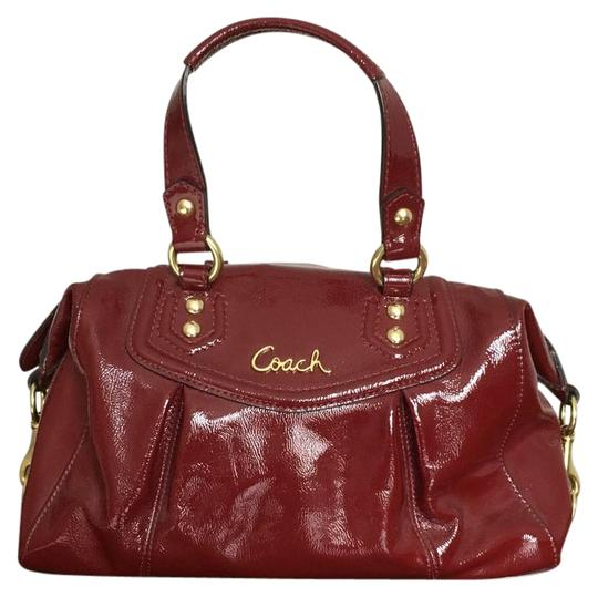 Preload https://img-static.tradesy.com/item/20810973/coach-f20460-dark-red-patent-leather-satchel-0-1-540-540.jpg