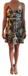 Carlos Miele short dress multi, nude on Tradesy