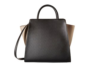 Zac Posen Handbag Designer Trendy Unique Leather Shoulder Bag