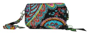 Vera Bradley Limited Edition Wallet Clutch Cellphone Case Cross Body Bag