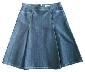 Ann Taylor Skirt Dark blue denim