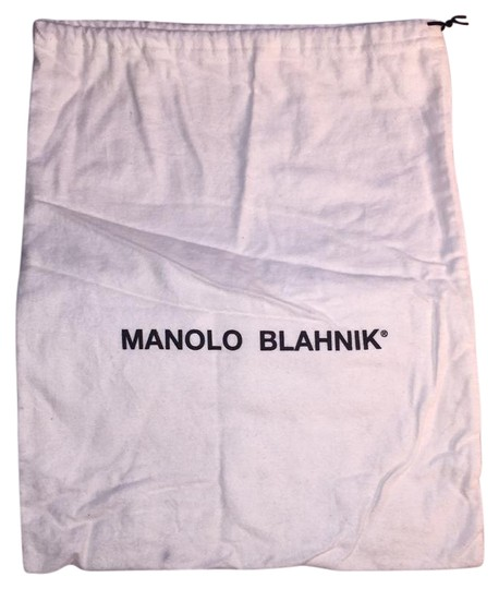 Preload https://img-static.tradesy.com/item/20811410/manolo-blahnik-white-felt-shoe-bag-0-1-540-540.jpg