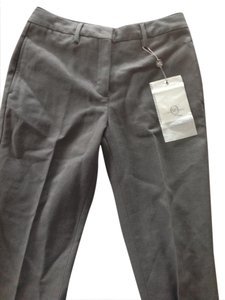 Alexander McQueen Straight Pants Grey Tweed