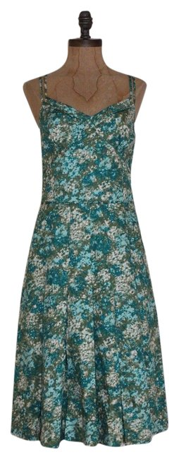 Preload https://img-static.tradesy.com/item/20811452/ann-taylor-multicolor-water-color-tea-mid-length-formal-dress-size-4-s-0-1-650-650.jpg