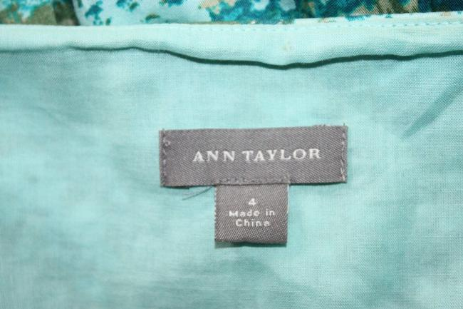 Ann Taylor Tea Length Pleated Dress