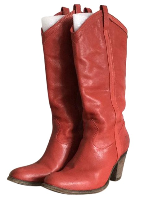 Item - Red 77485 Boots/Booties Size US 8 Regular (M, B)
