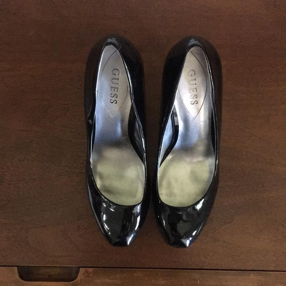 hot products release date new york Guess Black Patent Leather Pumps Platforms Size US 8.5 Regular (M, B) 35%  off retail