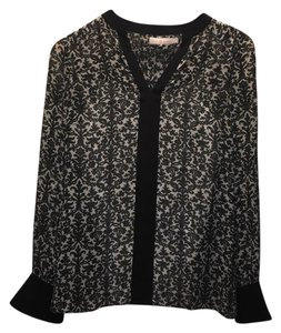 Tory Burch Top black and white