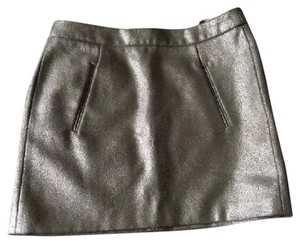 Gap Mini Skirt Metallic