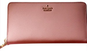 Kate Spade Pink/Gold Clutch