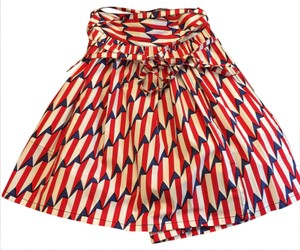 Marc Jacobs Skirt white red navy