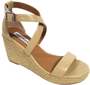 Steve Madden Jute Sandal Summer Spring Natural Wedges