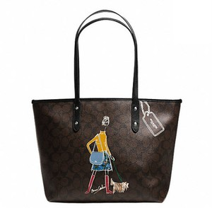 Coach Satchel F34103 36876 Tote in Black