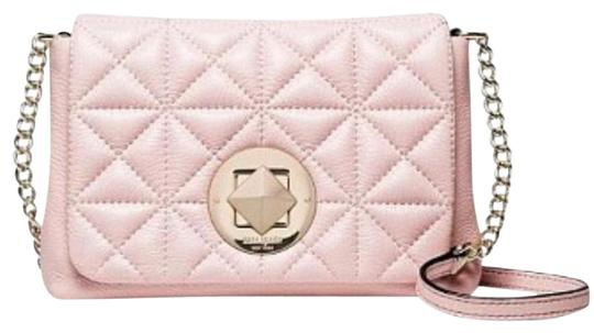 Preload https://img-static.tradesy.com/item/20811756/kate-spade-new-york-whitaker-place-naomi-pink-quilted-pebbled-leather-cross-body-bag-0-2-540-540.jpg