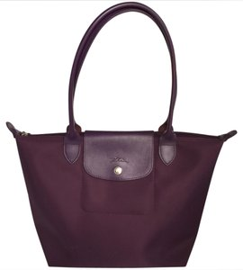 Longchamp Tote in Plum