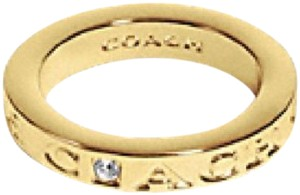 Coach Coach Pave Metal Ring