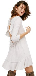 Free People short dress Stone / white on Tradesy