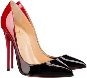 Christian Louboutin Black-Red Pumps
