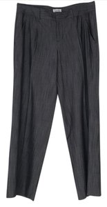Calvin Klein Wide Leg Pants Black & gray textured