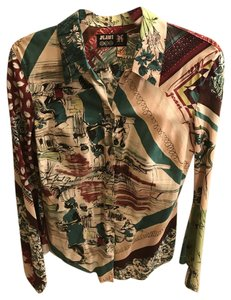 Jean-Paul Gaultier Jpg By Gaultier Print Shirt Button Down Shirt Multi-color
