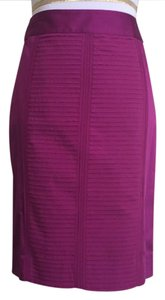 White House | Black Market Skirt Fuchsia