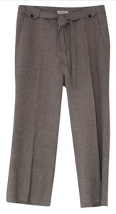 Banana Republic Wide Leg Pants Tan with black texture
