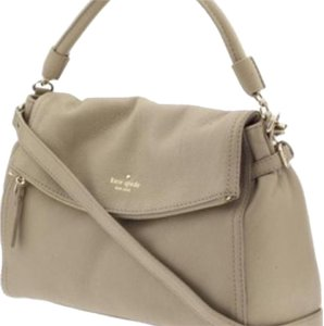 Kate Spade Satchel in nude cream