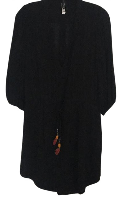Item - Black Swimwear Cover-up/Sarong Size 4 (S)