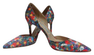 Manolo Blahnik Multi color Pumps