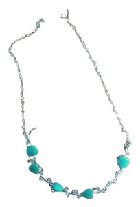 CER Necklaces Turquoise-Stones Handmade Necklace