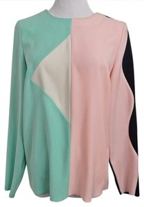 Marc by Marc Jacobs Color Mod Day To Evening Top Green Black Ivory Pink