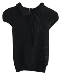 Louis Vuitton Top black, silver