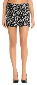 Guess Mini Skirt Black White