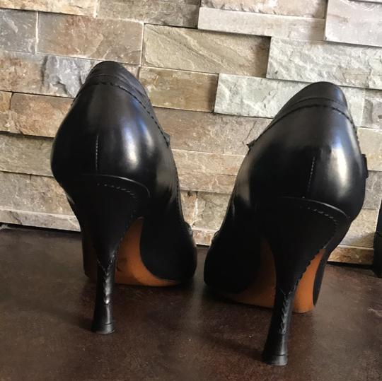 Louis Vuitton Classic Classy Collector Rare Leather black, gold, red Pumps