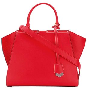 Fendi Tote in Flame Red