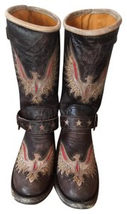 Old Gringo Nwt Leather Cowboy Brown Boots