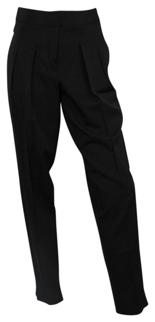 Item - Black Women's Wool with Fasteners 40 333374 Pants Size 4 (S, 27)