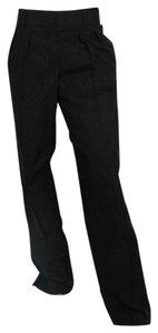 Bottega Veneta Women's Fasteners Straight Pants Black