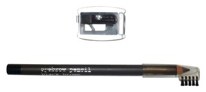 Eyebrow Pencil Attached Brow Brush + Pencil Sharpener