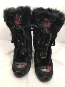 Coach Snow Fur Snowboot Winter black/red Boots